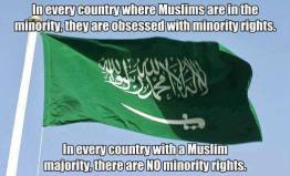 A sign the Muslims are not interested in anyone but themselves.